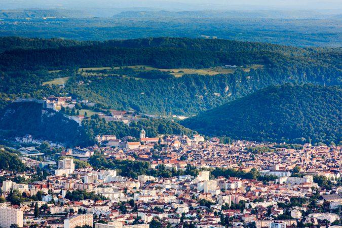 Vieille ville de Besançon